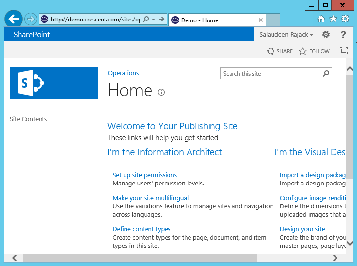 sharepoint master page favicon