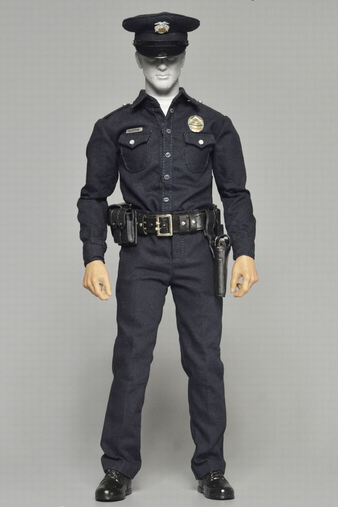 DID Action Figures Posed Hands Set of 4-1//6 Scale LAPD Austin
