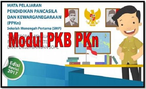 Download Modul PKB PKn Sekolah SMP/MTs Edisi Revisi 2017
