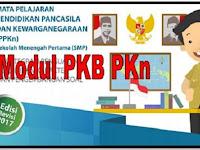 Unduh Modul PKB PKn Sekolah SMP/MTs Edisi Revisi 2017