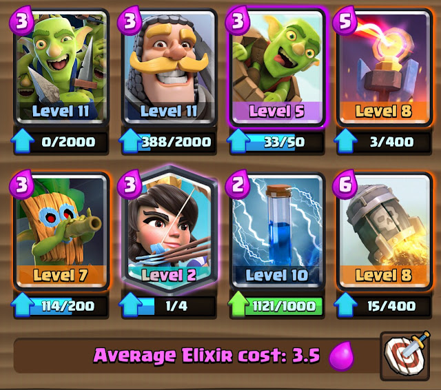 Princess Rocket Deck ( New Bait Meta Deck )