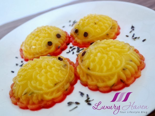 cute fishes mango pudding recipe