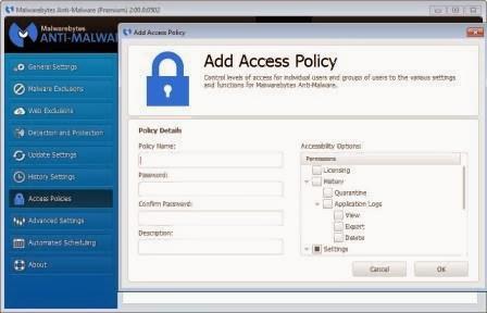 Malwarebytes Policy