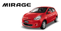 all new Mitsubishi Mirage
