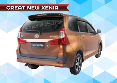 harga great new xenia
