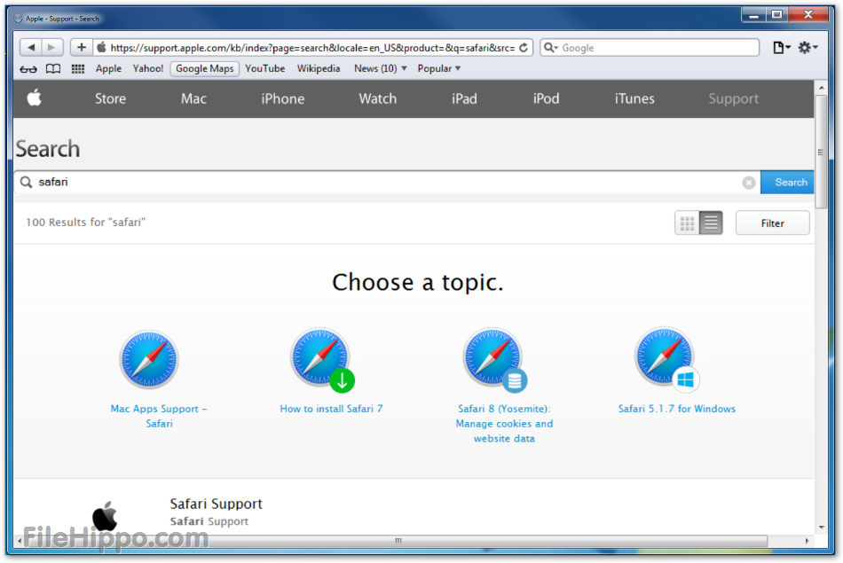 New Web Browser For Mac