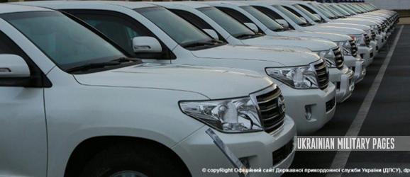 Прикордонники отримали від США 35 броньованих Volkswagen Amarok та Toyota Land Cruiser