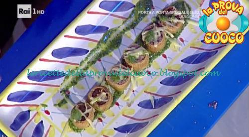 Sushi di manzo ricetta Takamitsu da Prova del Cuoco
