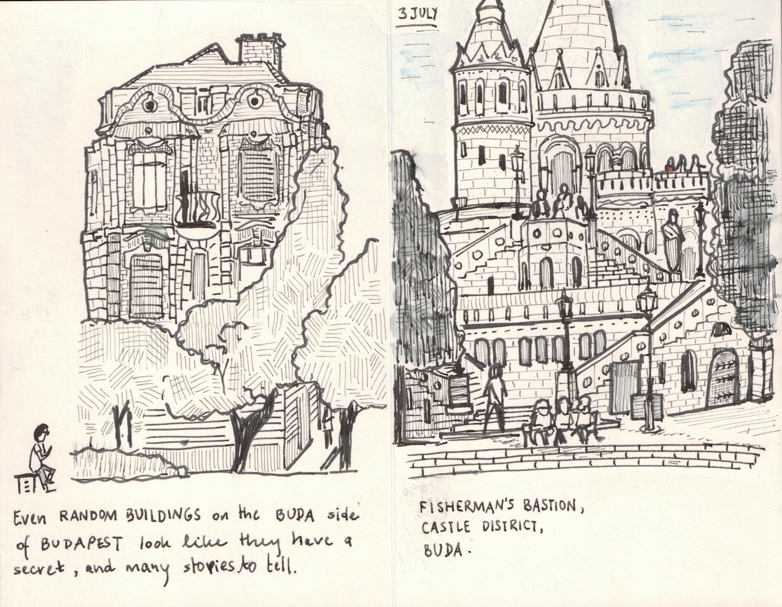 Ten Days In Central Europe Urban Sketchers # Expo Muebles Wtc D'Europe