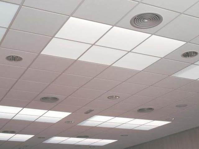 techo de pladur decorativo colgante