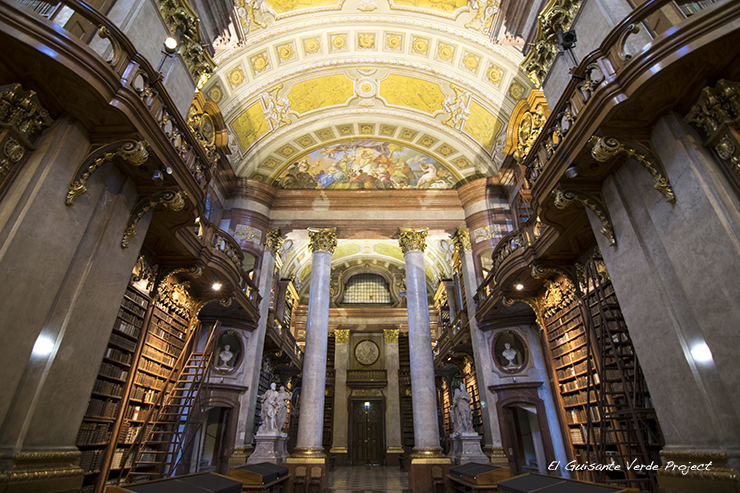 Prunksaal, Hofburg - Viena por El Guisante Verde Project