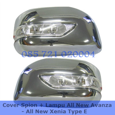 Katalog Grand New Avanza Toyota All Innova Venturer Cover Spion + Lampu   Aksesoris Mobil