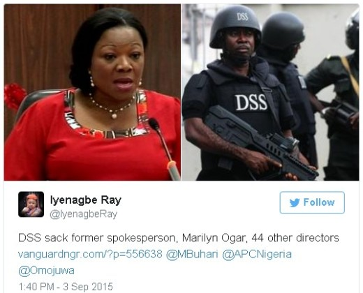 Nigerians react to Marilyn Ogar's sack
