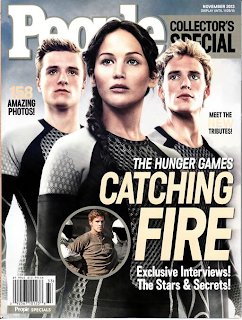 Catching Fire special edition magazine issue from People