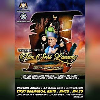Cerita Teater Muzikal Tun Sri Lanang