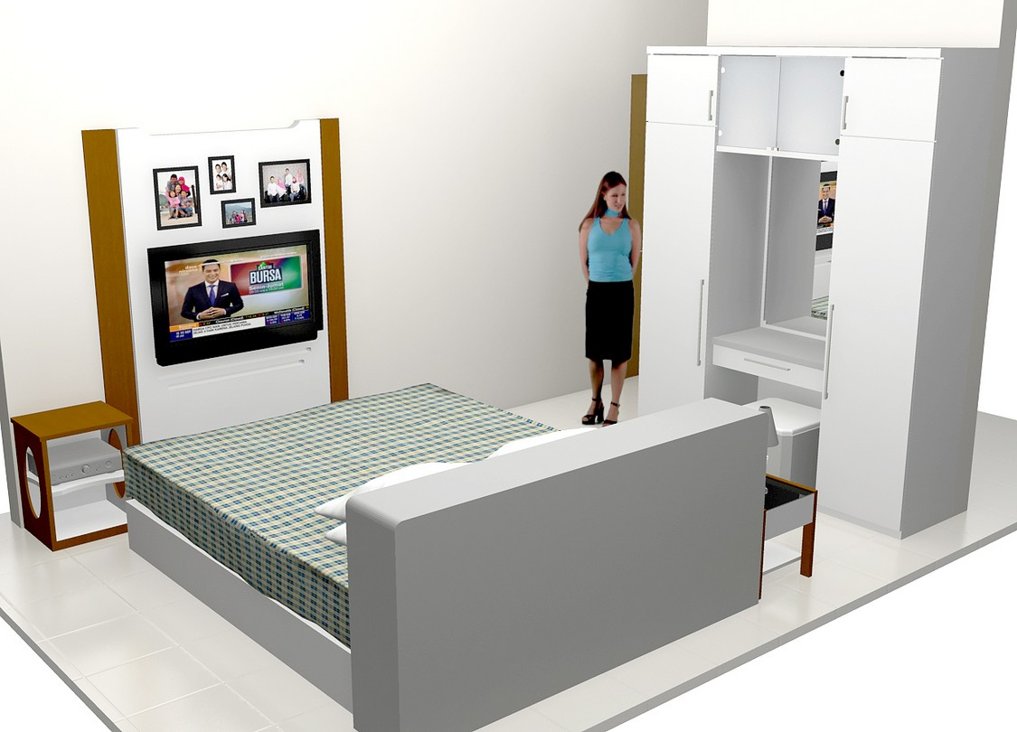 Furniture Kamar Tidur Kecil