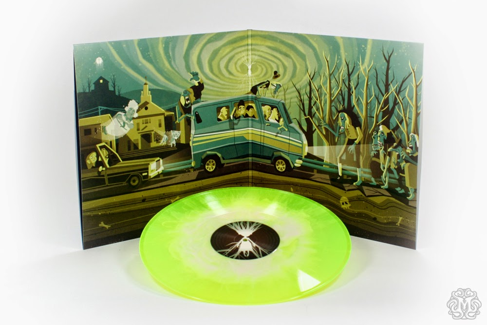 "ParaNorman Soundtrack ""Aggie Fights"" Variant Vinyl Record by Mondo with Cover Artwork by DKNG"