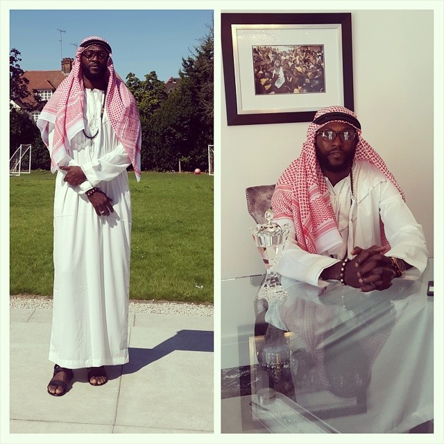 emmanuel seyi adebayor islam