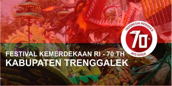 Jadwal Festival Kemerdekaan Kabupaten Trenggalek