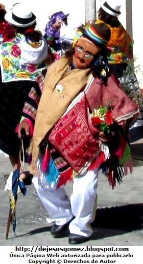 Foto del Boliviano o Jamille en pleno baile de Tunantada (Santa Cruz de Andamarca) por Jesus Gómez