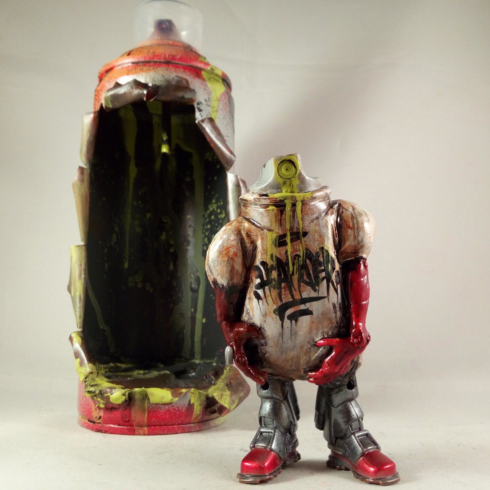 hoakser's blog: TOY PART MASHUPS IN SPRAY CANS