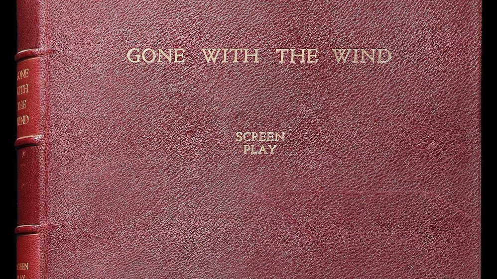 Vivien Leigh Vivien Leighs Gone With The Wind Script Is Up For