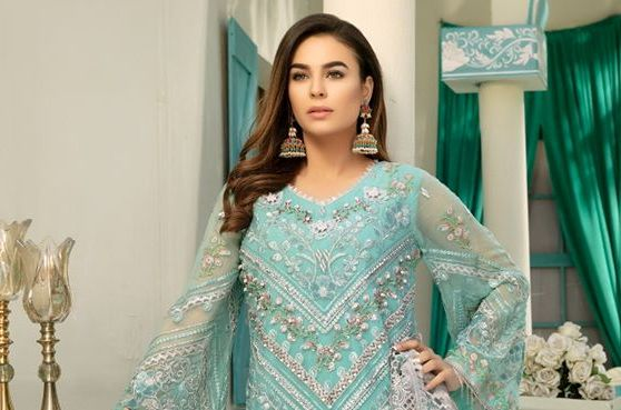 Emaan Adeel Embroidered Chiffon Collection 2020 Volume 10 with Price Buy Online