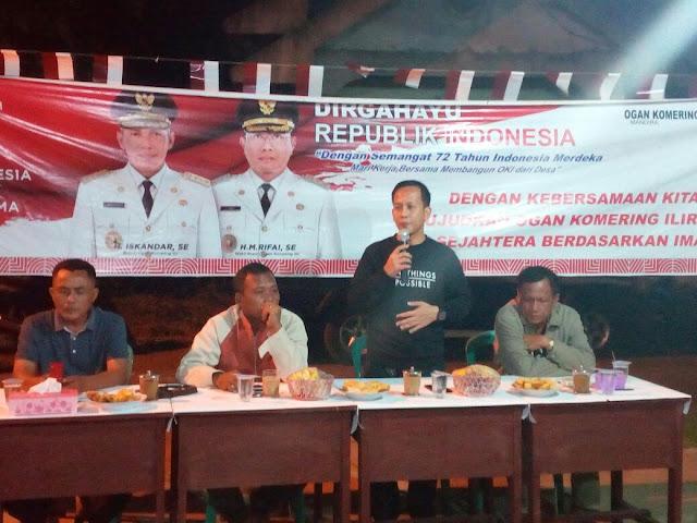 Meriahkan HUT RI ke-72, Kelurahan Tanjung Rancing Gelar Lomba Gaple