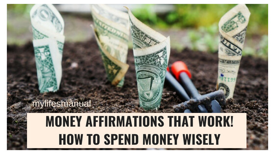 Personal finance tips. Money affirmations that work