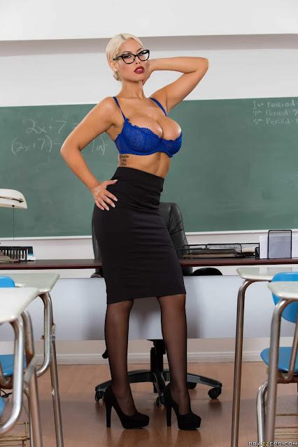 Bridgette B : Teachers Tits Are Distracting ## BRAZZERS