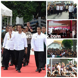 Presiden RI Datang ke Siantar dalam kunjungan