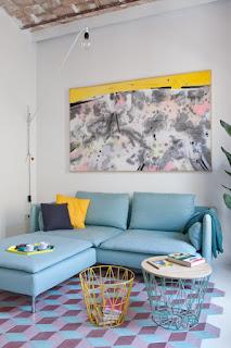 pastelove barvy v interieru
