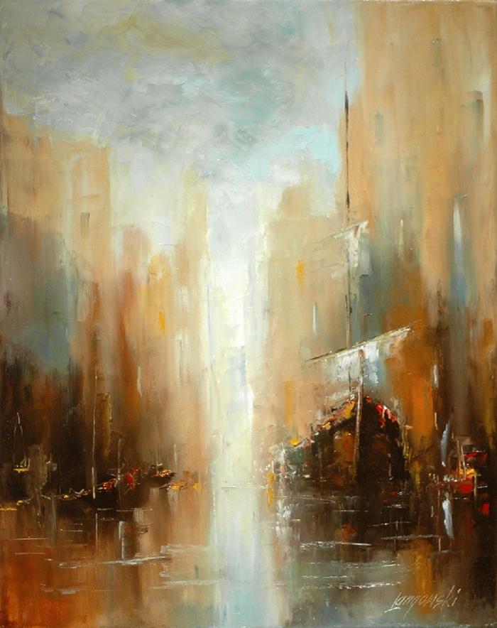 Arte Marek Langowski A Polish Impressionist Painter 9