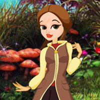 Play WowEscape Rescue Girl from Fantasy Forest