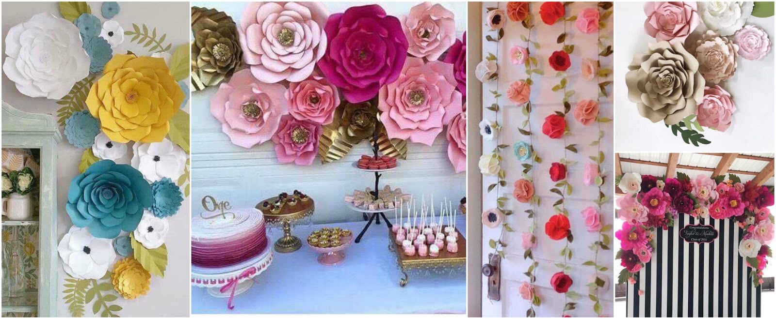 18 ideas f ciles y hermosas para decorar con flores de for Rosas de decoracion
