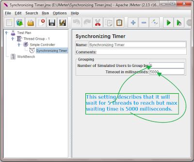configure Synchronizing Timer