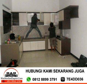 Jasa pembuatan kitchen set bogor jasa pembuatan kitchen for Biaya bikin kitchen set