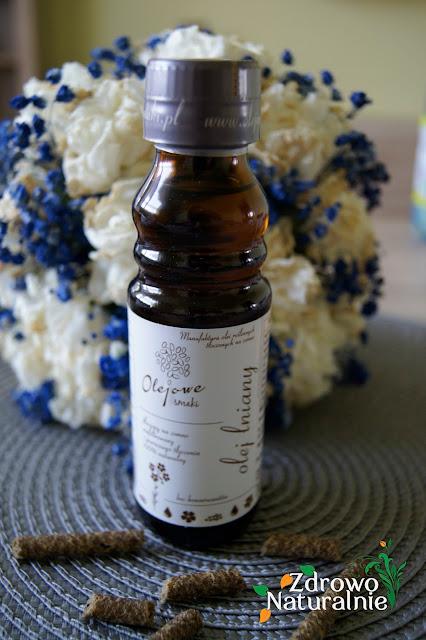 Olejowe Smaki - Olej lniany tłoczony na zimno