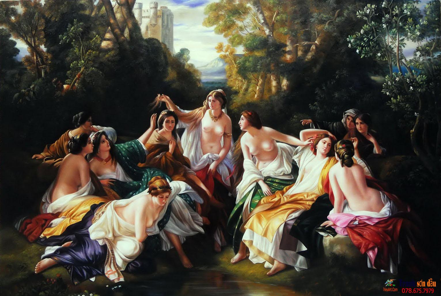 tranh chân dung cổ điển