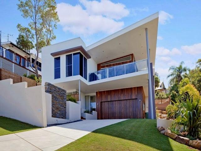 Fachadas de casas y casas por dentro for Cuanto sale construir una piscina