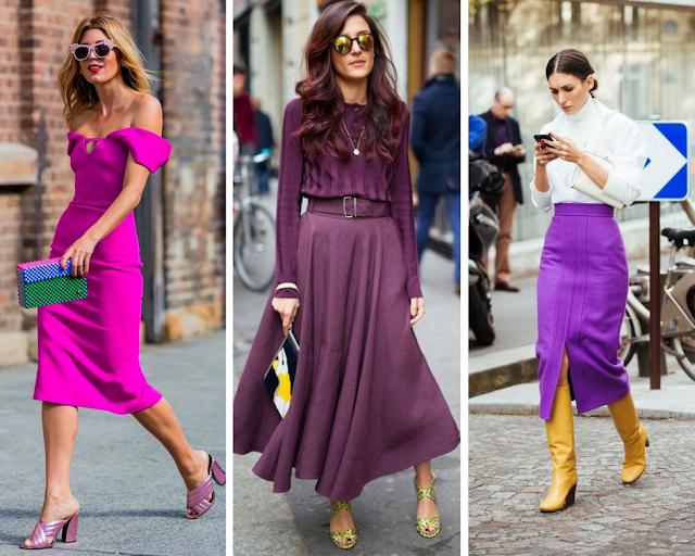 Como usar a cor Ultra Violet - Pantone 2018