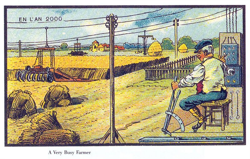 18-A-Very-Busy-Farmer-Jean-Marc-Cote-En-L-An-2000-wikimedia-Futurism-with-Illustrated-Postcards-from-the-1900s-www-designstack-co