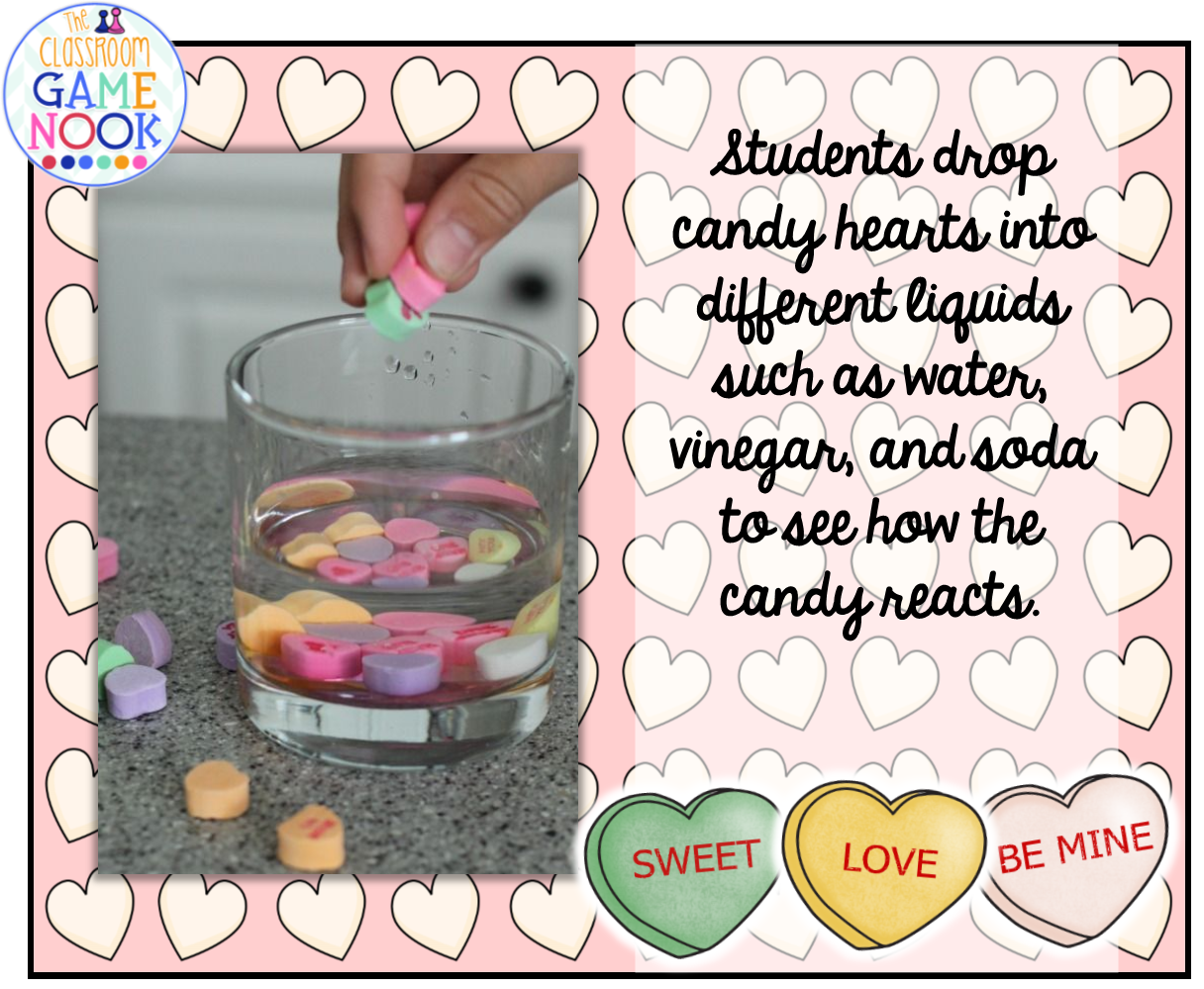 The Classroom Game Nook 6 Ways To Use Candy Hearts For
