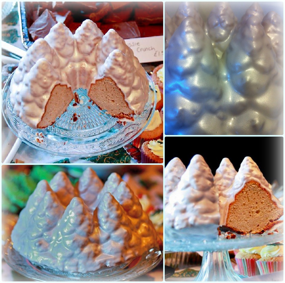 Holiday Tree Bundt Cake Tin Under