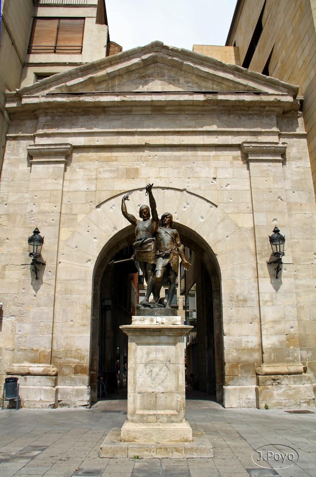 Arco del puente de Lleida