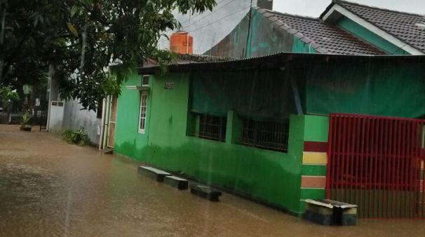 Banjir di Sambirata Cilegon