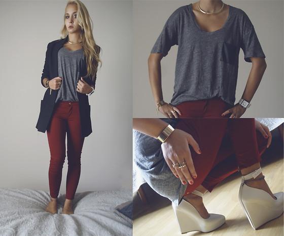 Mundo pelusa c mo combinar jeans de colores for Q color combina con el gris