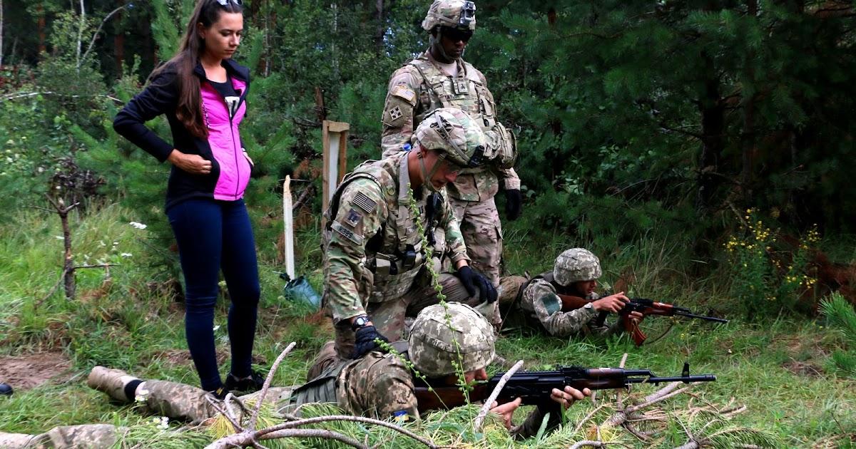 Move Under Direct Fire : Snafu rd id training ukrainians