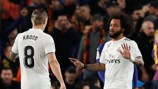 Marcelo 100 Persen Madrid!