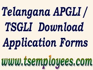 Download Telangana APGLI Application form loan form new application form